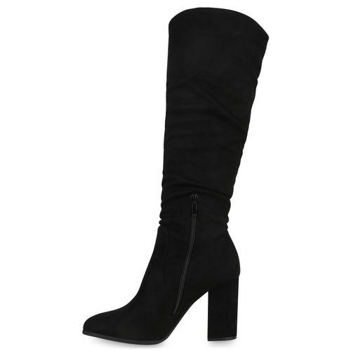 Klassische Stiefel Klassische Damen Stiefel Damen Schwarz Schwarz Klassische Damen wxRPS1