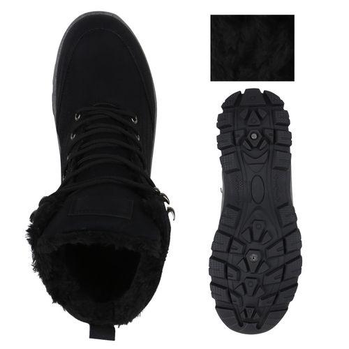 Herren Boots Outdoor Schuhe - Schwarz