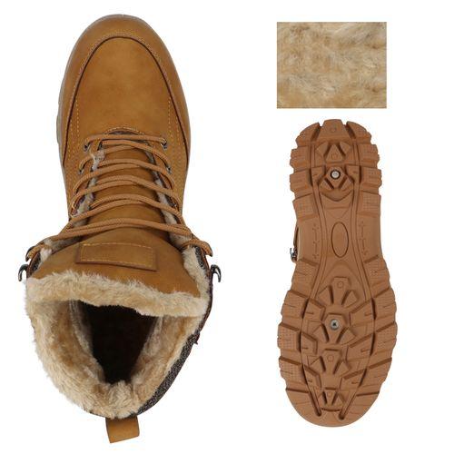 Herren Boots Outdoor Schuhe - Hellbraun