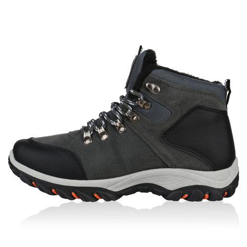 Herren Boots Outdoor Schuhe - Grau