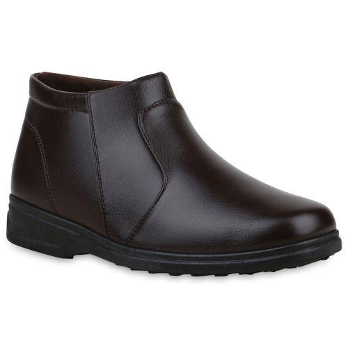 Herren Winter Boots - Braun
