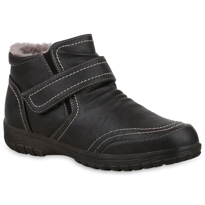 Damen Stiefeletten Winter Boots - Braun