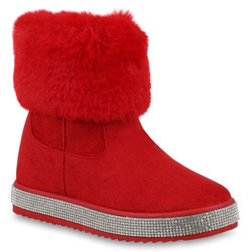 Damen Rot Rot Winter Rot Boots Damen Stiefeletten Boots Boots Damen Stiefeletten Stiefeletten Winter Winter 6d60x