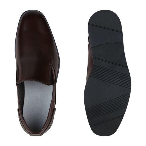 Business Herren Klassische Slippers Slippers Klassische Dunkelbraun Herren Business B4qUwx84