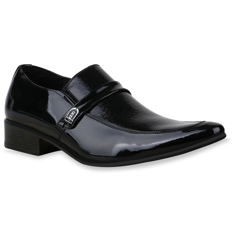Herren Business Klassische Slippers - Schwarz