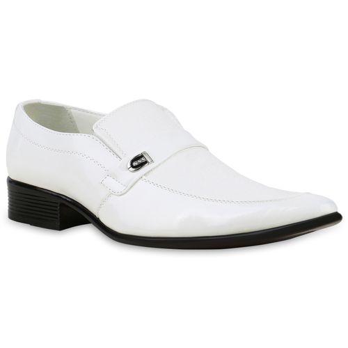 Herren Business Klassische Slippers - Weiß