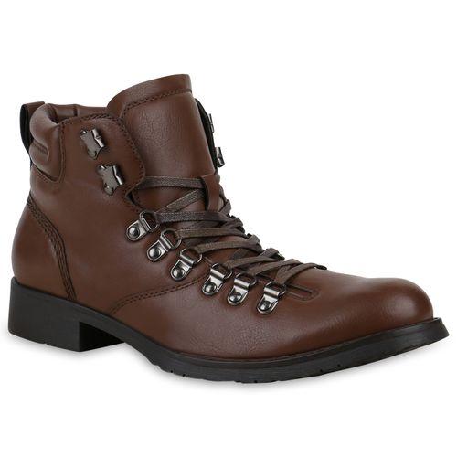 Herren Boots Outdoor Schuhe - Braun