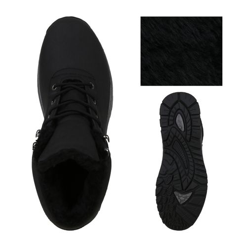 Herren Boots Herren Schwarz Schuhe Outdoor Boots wxzanP05