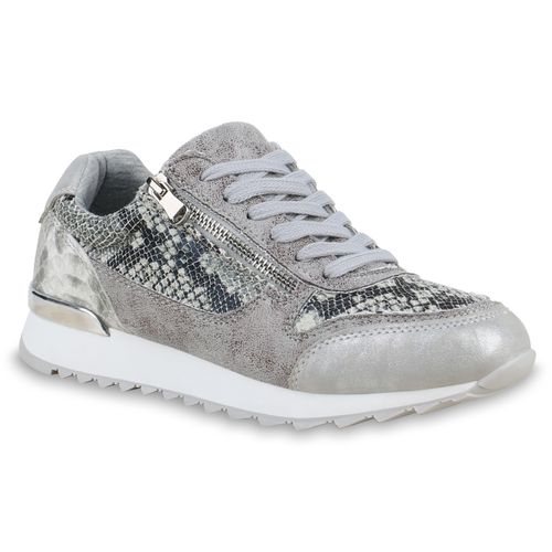a24a34a596e608 Damen Sneaker in Grau (825656-514) - stiefelparadies.de