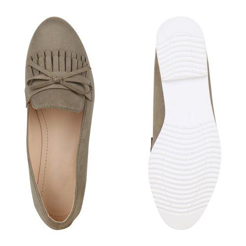 Damen Klassische Slippers Dunkelgrün Damen Klassische X0wdwqa