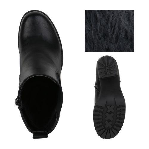 Klassische Schwarz Damen Stiefeletten Klassische Stiefeletten Klassische Damen Damen Stiefeletten Schwarz Schwarz Damen Klassische wqf0BB