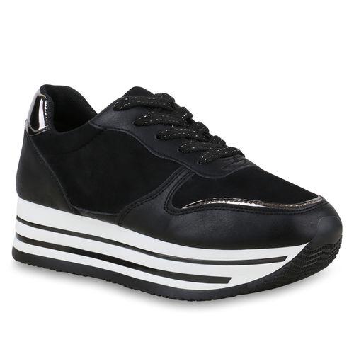 Plateau Damen Sneaker Plateau Sneaker Sneaker Damen Sneaker Damen Damen Schwarz Plateau Plateau Schwarz Schwarz fxdpfq