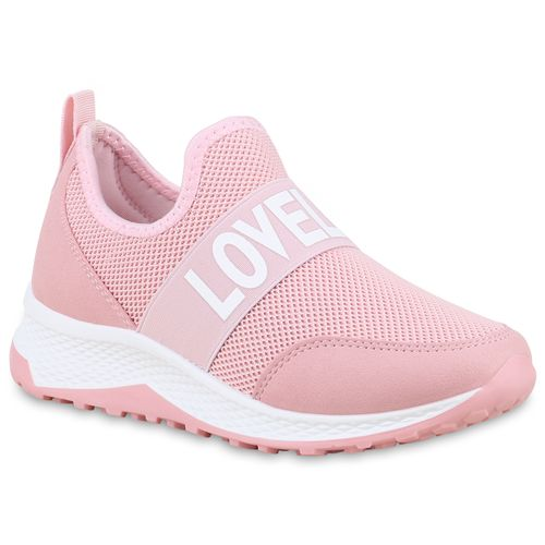 Plateau Damen Damen Plateau Rosa Sneaker Sneaker qT8nz