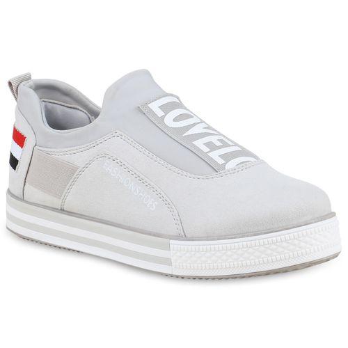 848e352ce54a8a Damen Sneaker in Grau (825777-514) - stiefelparadies.de