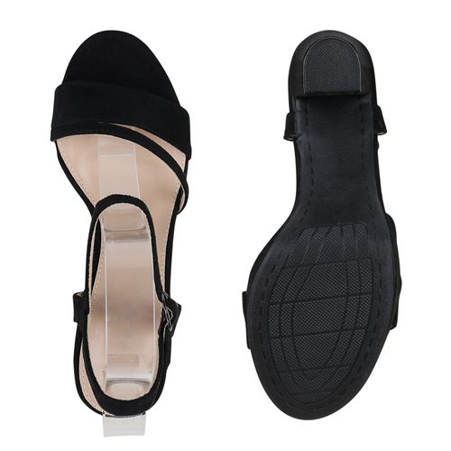 Riemchensandaletten Sandaletten Damen Schwarz Damen Schwarz Riemchensandaletten Damen Sandaletten B6PwnO