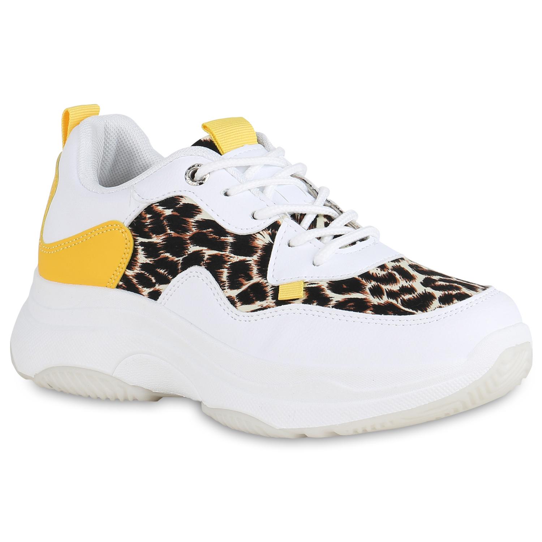 Details zu Damen Dad Sneaker Plateau Turnschuhe Leo Print Plateauschuhe 825784 Schuhe