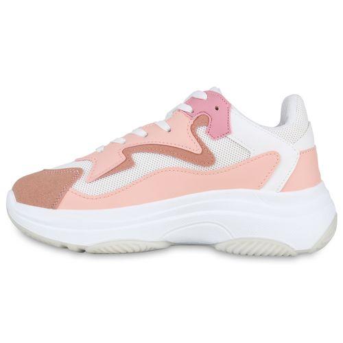 Rosa Plateau Sneaker Sneaker Damen Plateau Rosa Damen Sneaker Damen Plateau xqwAFp6