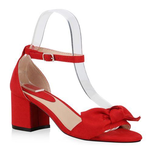 Riemchensandaletten Rot Damen Damen Rot Sandaletten Sandaletten Riemchensandaletten Xnfwf8qRHW