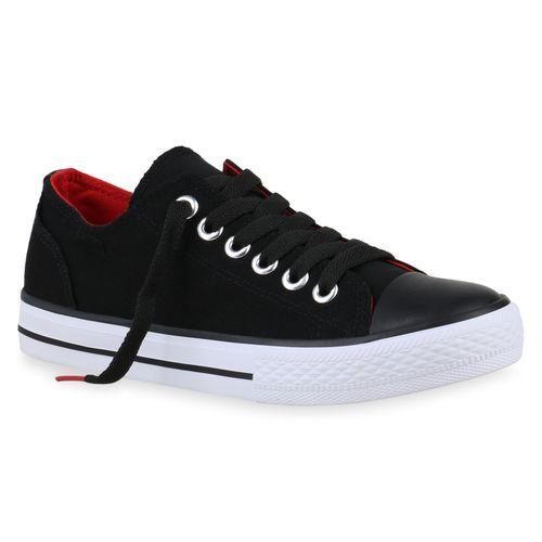 1395a991cf69 Damen Sneaker low - Schwarz Rot