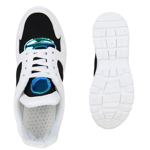 Schwarz Plateau Plateau Sneaker Damen Damen Damen Sneaker Schwarz Plateau Sneaker ZxWqadzzn