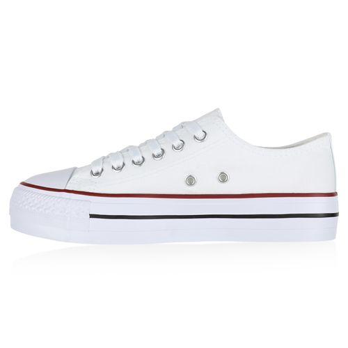 Plateau Weiß Sneaker Damen Sneaker Damen Damen Plateau Weiß 8B7qwn6
