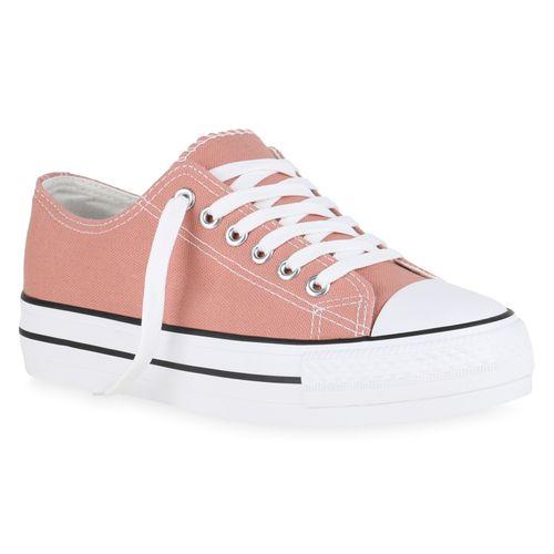 Rosa Damen Rosa Plateau Sneaker Sneaker Damen Damen Plateau gC7T7q
