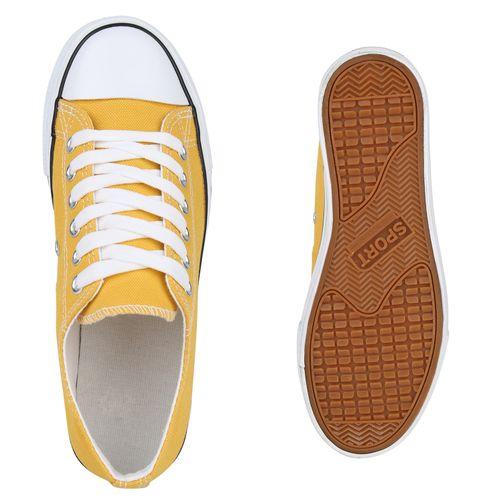 Plateau Sneaker Damen Damen Plateau Gelb Ox8xqEaw