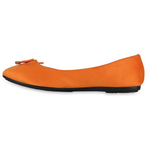 Damen Klassische Ballerinas - Orange