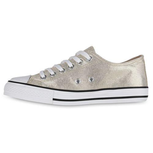 Gold Sneaker Sneaker Low Gold Damen Damen Low Damen Gold Low Damen Sneaker xqIzpwgdq