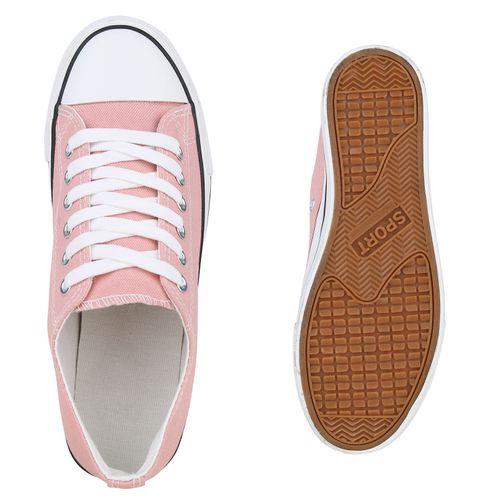 Damen Rosa Plateau Sneaker Damen Sneaker Plateau 50xHq66f