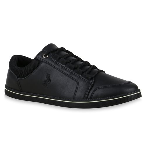 Schwarz Herren Herren Sneaker Sneaker Low qv16xw