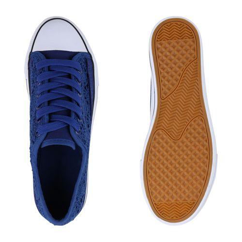 Damen Plateau Plateau Damen Sneaker Sneaker Blau Blau Damen 6vAtf6