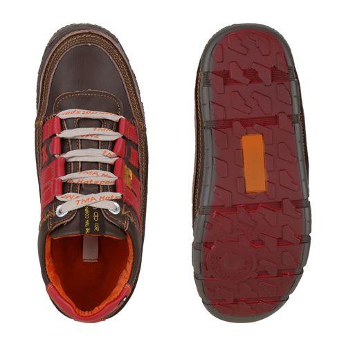 Herren Rot Sneaker Rot Braun Braun Herren Low Herren Low Sneaker Sneaker Low 1rTPxw1gq