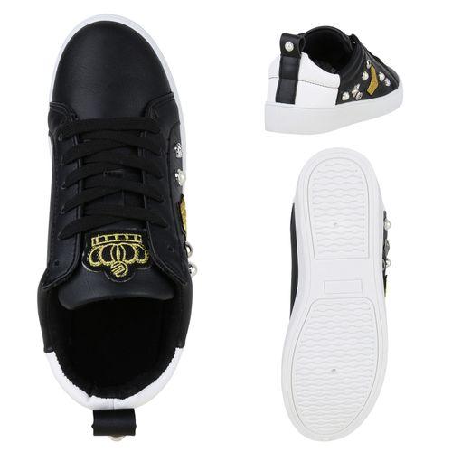Low Damen Schwarz Low Low Sneaker Damen Sneaker Damen Sneaker Schwarz wBq7EHO6