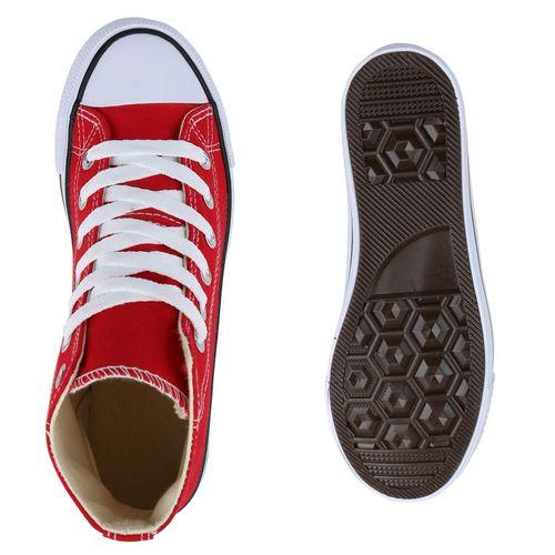 High Rot Rot Sneaker High Damen Rot High Sneaker Damen Damen Sneaker Sneaker Damen High qfIwSCC
