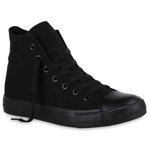 Herren Sneaker high - Schwarz Basic
