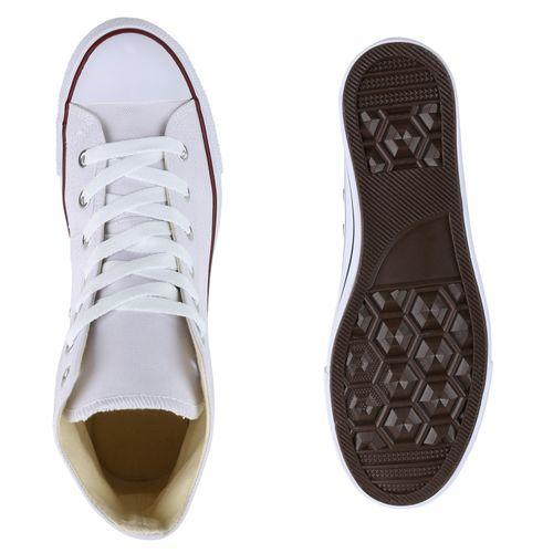 Herren Sneaker Sneaker High Sneaker High Herren Sneaker Herren Herren Weiß Weiß High Weiß vYx84wpAq