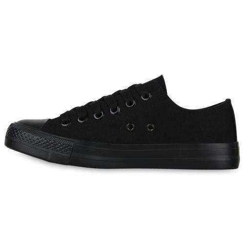 Damen Sneaker Schwarz Low Sneaker Damen rxzwqIrE6
