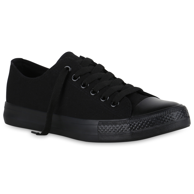 Sneakers - Herren Sneaker low Schwarz Basic › stiefelparadies.de  - Onlineshop Stiefelparadies