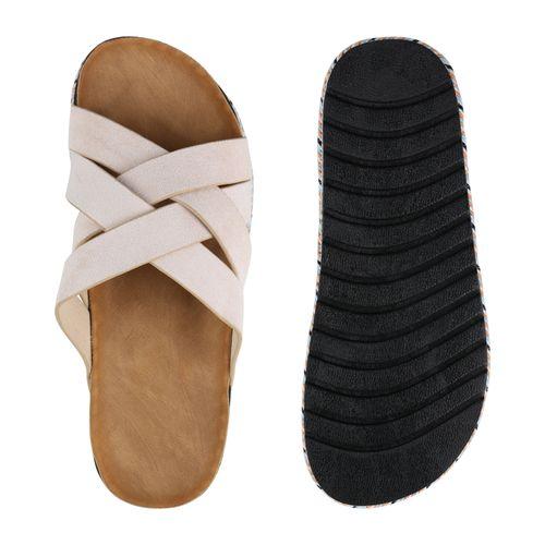 Rosa Sandaletten Pantoletten Sandaletten Damen Damen Pzqz1ZwI