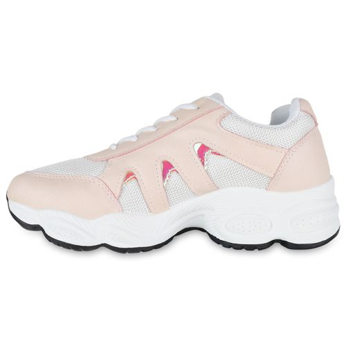 Plateau Damen Damen Plateau Sneaker Sneaker Rosa nnxB4rW