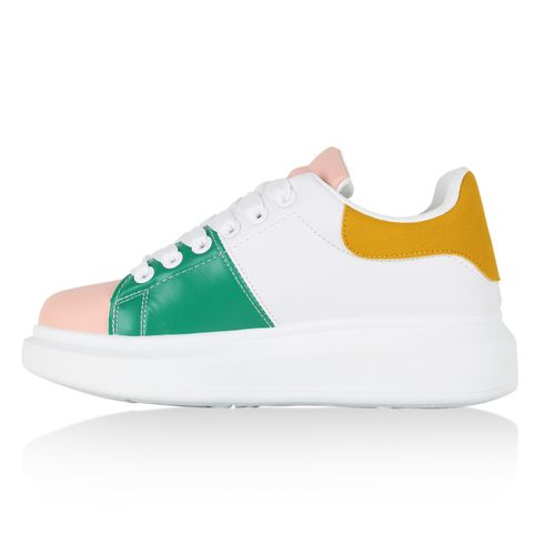 Plateau Sneaker Rosa Sneaker Damen Damen Rosa Plateau Damen Plateau ZrEZ5aqw