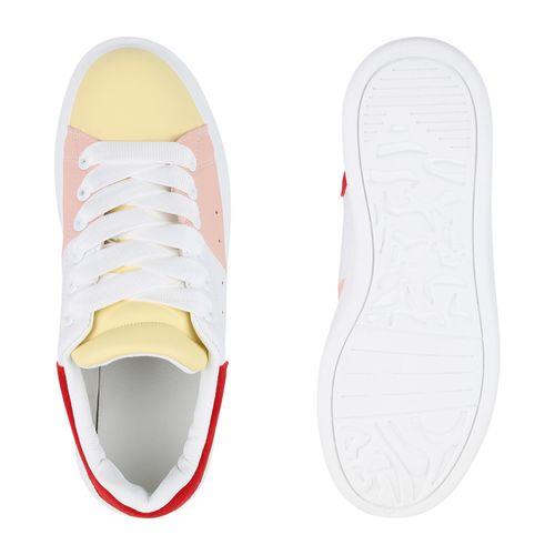 Gelb Gelb Damen Damen Sneaker Damen Plateau Sneaker Plateau n0dwHqwxB