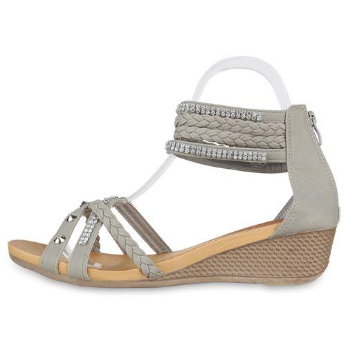 Damen Keilsandaletten Sandaletten Damen Damen Keilsandaletten Grau Sandaletten Sandaletten Keilsandaletten Grau HnxYH1f4a