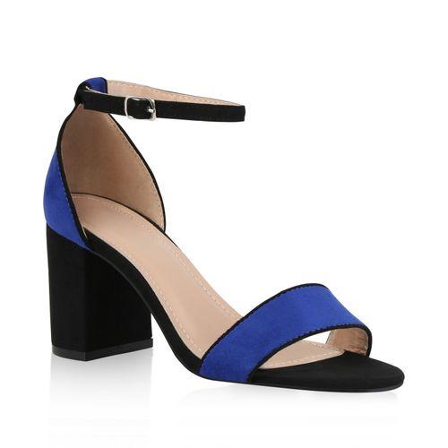 Damen Damen Damen Riemchensandaletten Riemchensandaletten Sandaletten Blau Damen Riemchensandaletten Sandaletten Blau Sandaletten Riemchensandaletten Sandaletten Blau wtZdt