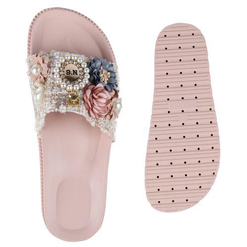 Sandaletten Sandaletten Rosa Pantoletten Rosa Sandaletten Rosa Pantoletten Pantoletten Damen Damen Pantoletten Damen Damen Rosa Sandaletten x1vpIv