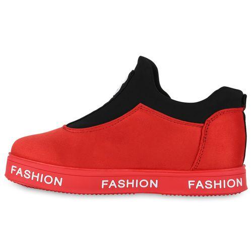 Sneaker Plateau Plateau Damen Damen Sneaker Plateau Rot Damen Plateau Rot Damen Sneaker Rot qAI0xvw