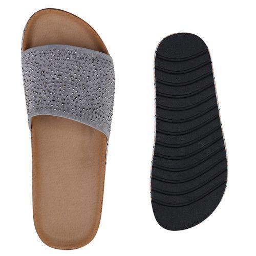 Sandaletten Sandaletten Damen Grau Pantoletten Pantoletten Sandaletten Sandaletten Grau Damen Pantoletten Grau Damen Damen Pantoletten PAxqdZ