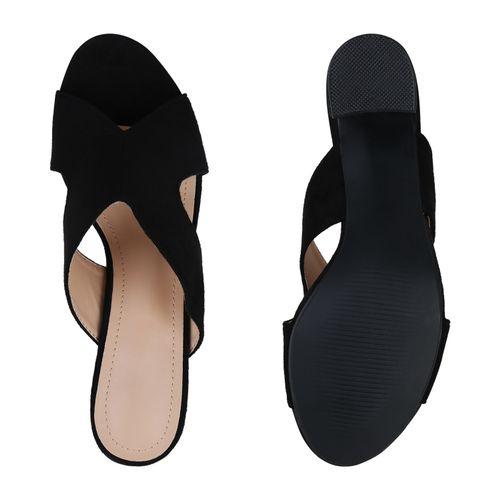 Schwarz Sandaletten Schwarz Pantoletten Damen Sandaletten Pantoletten Sandaletten Pantoletten Pantoletten Schwarz Damen Sandaletten Damen Damen wqZOI61