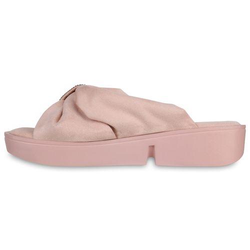 Damen Pantoletten Damen Sandaletten Sandaletten Pantoletten Rosa 7aqT7Z